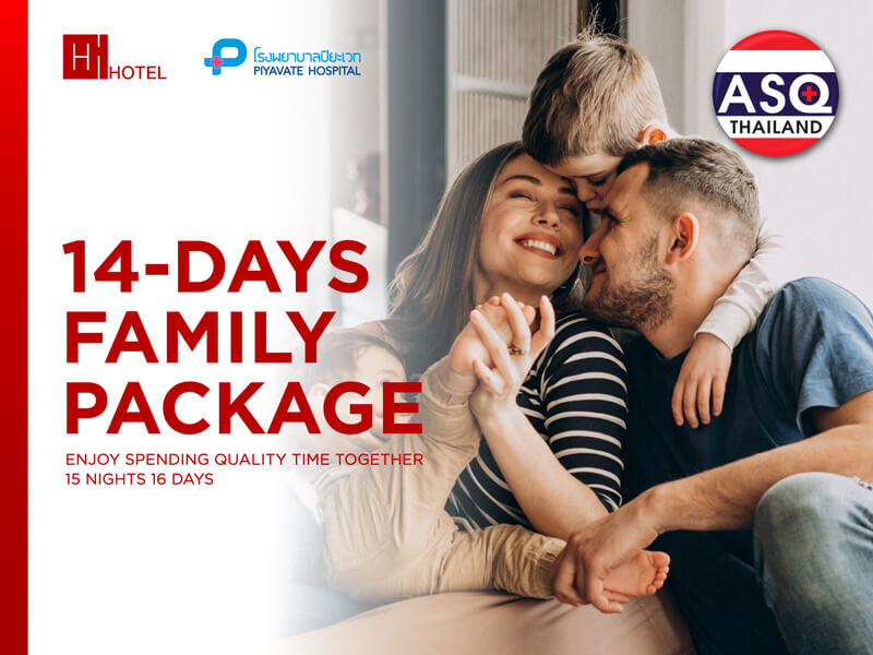 14 Days Family Package